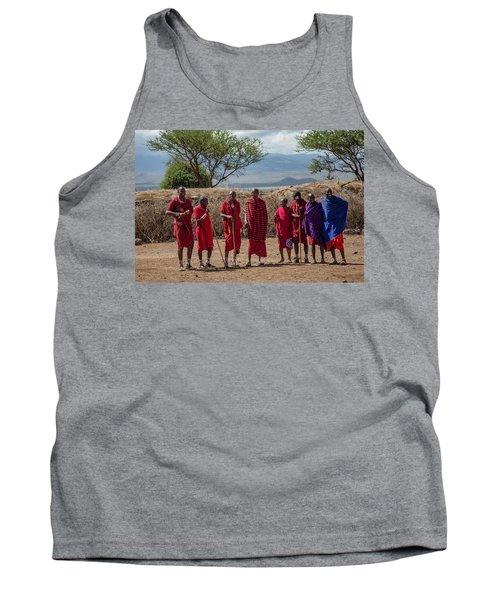 Maasai Men Tank Top