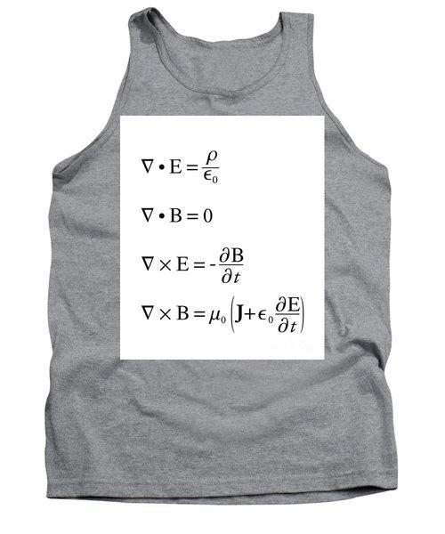 Maxwell's Equations Tank Top