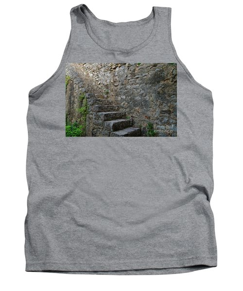 Medieval Wall Staircase Tank Top