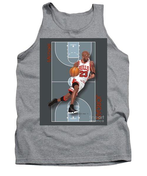 Michael Jordan, No. 23 Tank Top