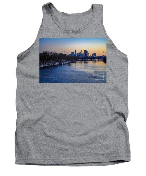 Minneapolis Skyline Tank Top