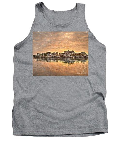 Monhegan Sunrise - Harbor View Tank Top