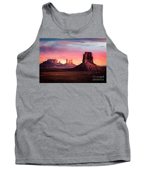 Monument Valley Sunrise Tank Top