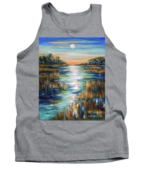 Moon Over Waterway Tank Top