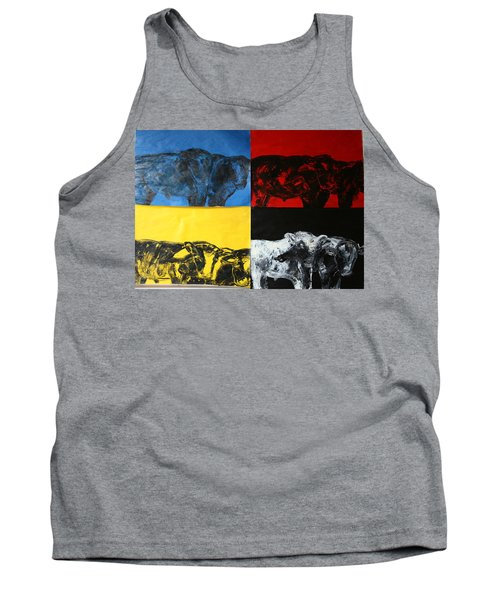 Mooving Out Of Our Land Tank Top