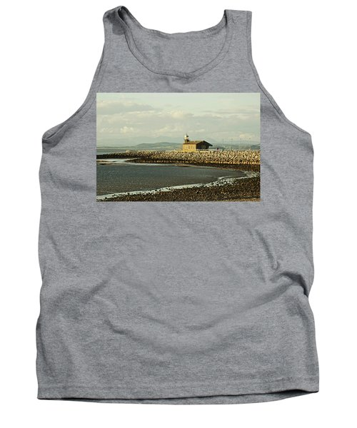 Morecambe. The Stone Jetty. Tank Top