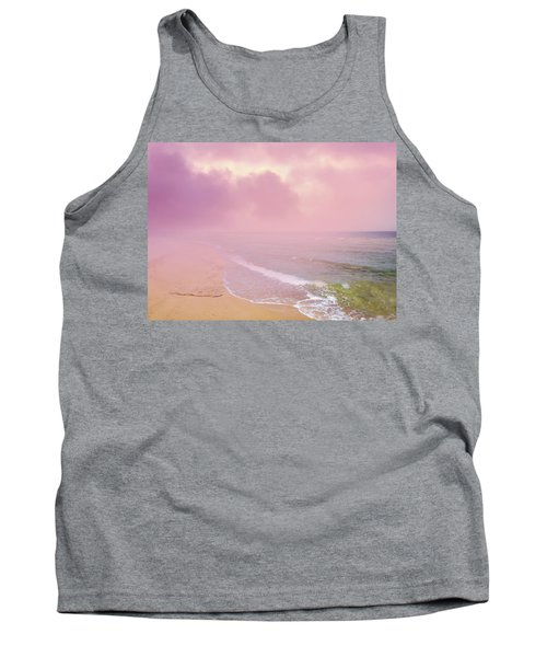 Morning Hour By The Seashore In Dreamland Tank Top