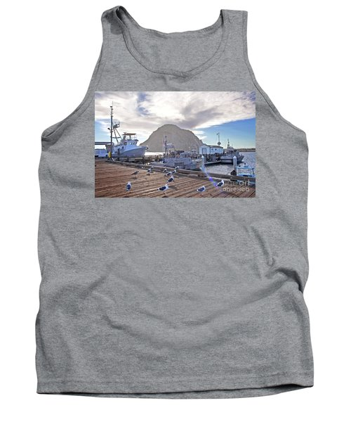 Morro Bay Harbor Tank Top