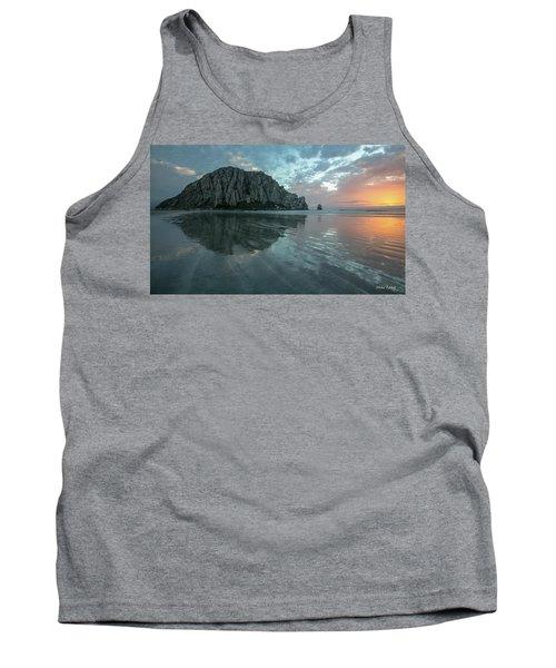 Morro Rock Sunset Tank Top