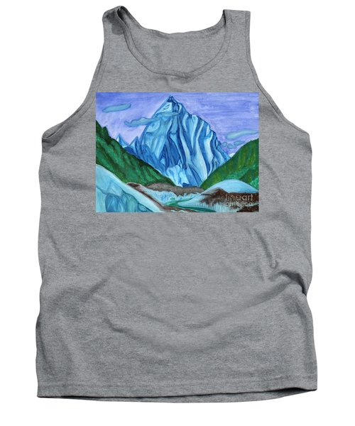 Snow Peak Above The Clouds Tank Top