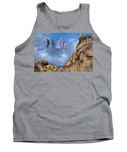Mount Whitney Clearing Storm Eastern Sierras California Tank Top