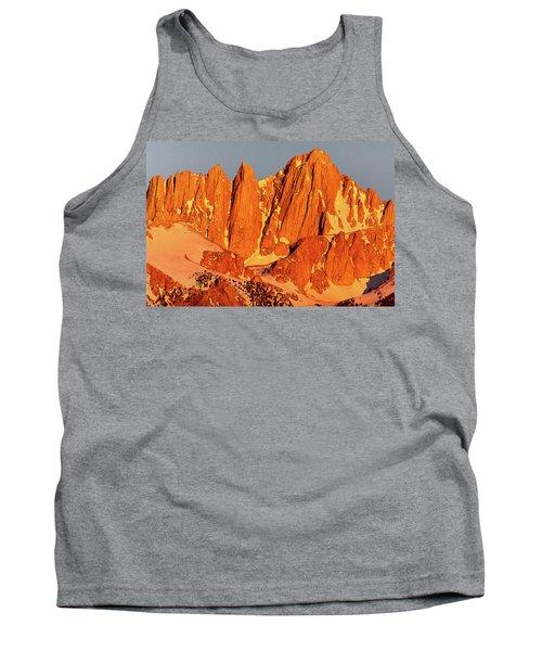 Mount Whitney Sunrise Tank Top