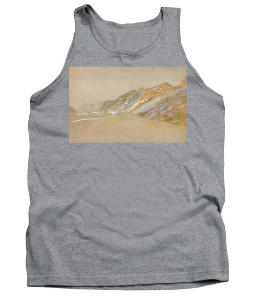 Mountains By The Traveller's Rest Near Dolgelly - Digital Remastered Edition Tank Top
