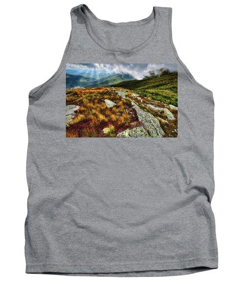 Mt. Washington Nh, Autumn Rays Tank Top