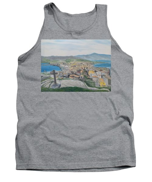 Tank Top featuring the painting Muxia by Kevin Daly