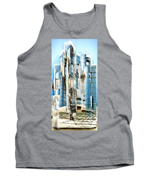 My Fortress Of Dancing Steel Tank Top