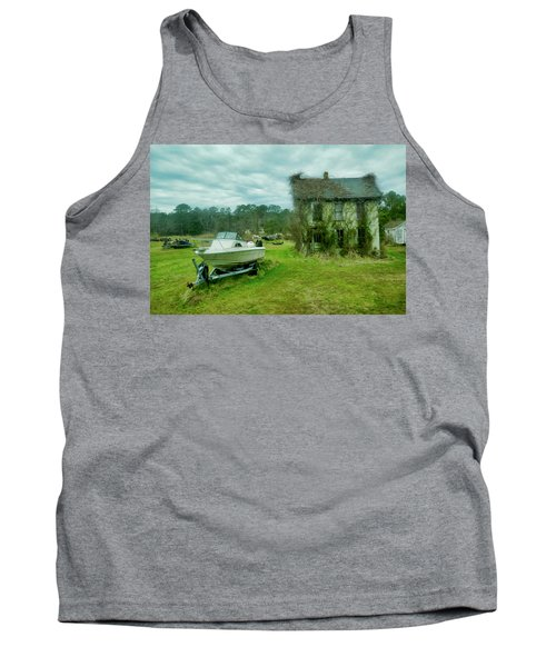 Auntie's Old House Tank Top