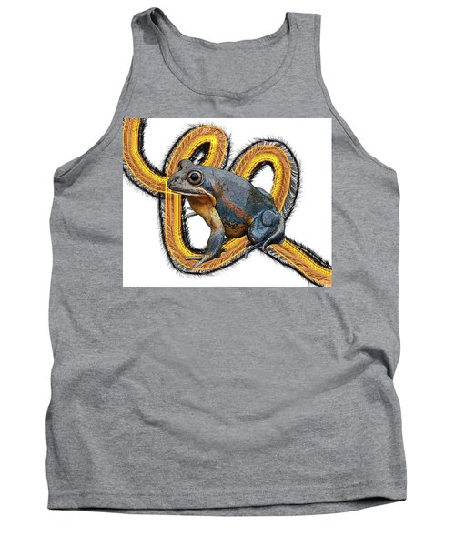 N Is For Northern Banjo Frog Tank Top