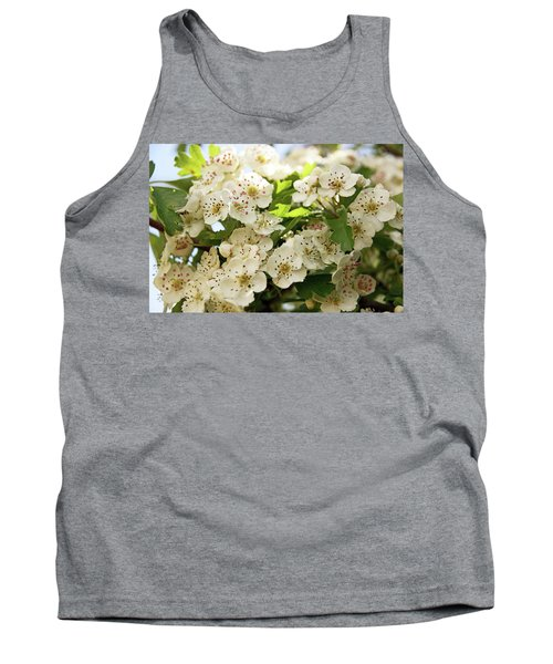 Neston.  Hawthorn Blossom. Tank Top