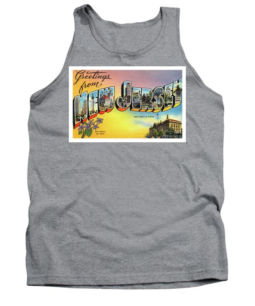 New Jersey Greetings - Version 2 Tank Top