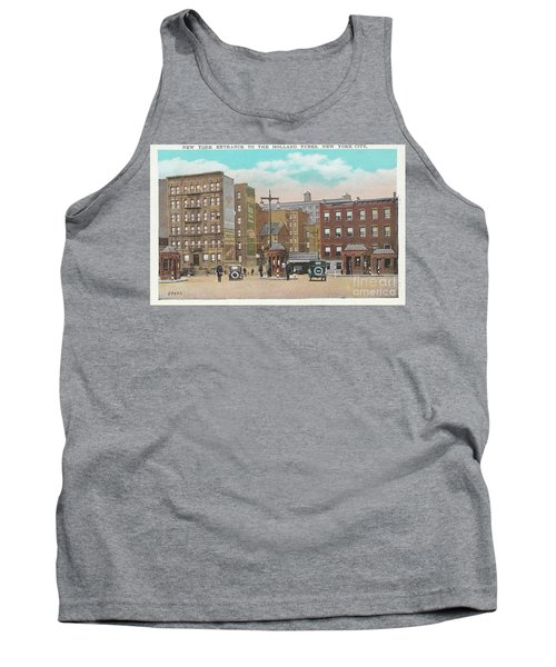 New York Entrance To The Holland Tubes Tank Top