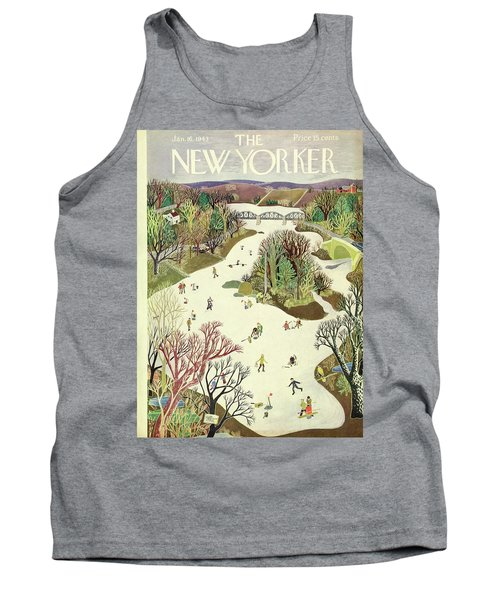 New Yorker January 16th 1943 Tank Top
