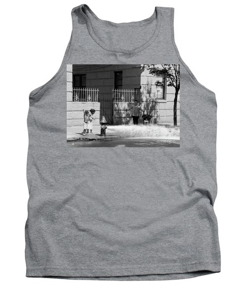 Tank Top featuring the photograph Nyc Summer  by Cole Thompson