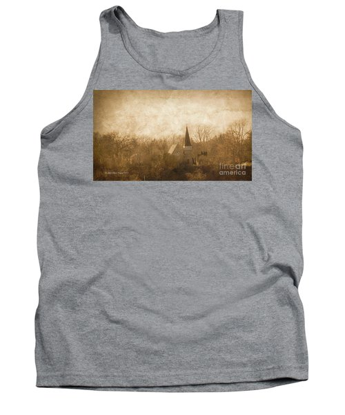 Old Church On A Hill  Tank Top