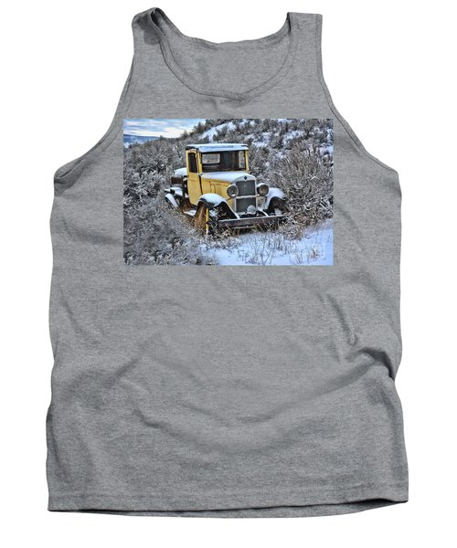 Old Yellow Truck Tank Top
