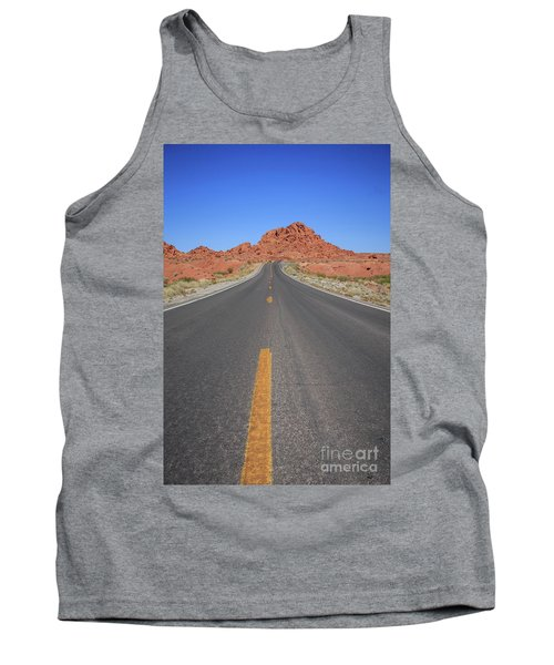 Open Road Valley Of Fire Tank Top