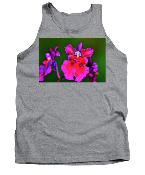 Orchid Study Three Tank Top