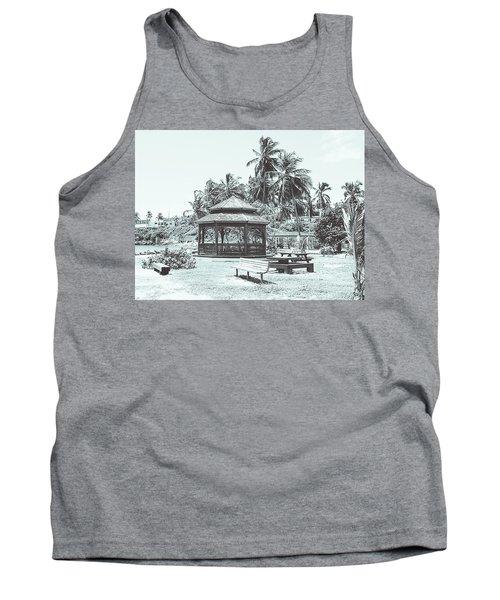 Pagoda On The Sea Tank Top