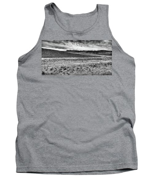 Tank Top featuring the photograph Palouse Treeline by David Patterson