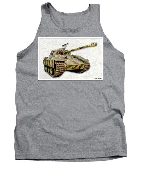 Panzer V Panther Tank Top
