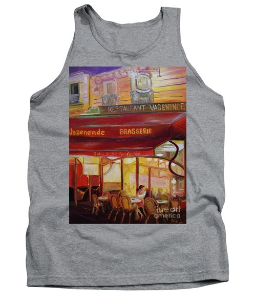Paris Night Tank Top