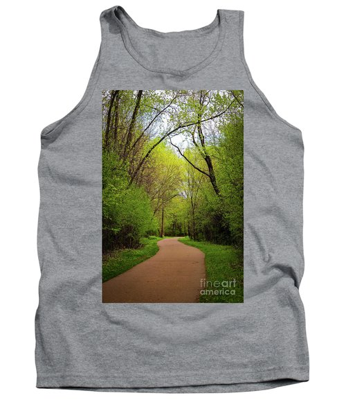 Path In The Forest Tank Top