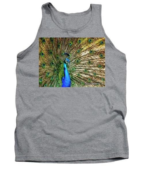 Peacock Full Bloom Tank Top