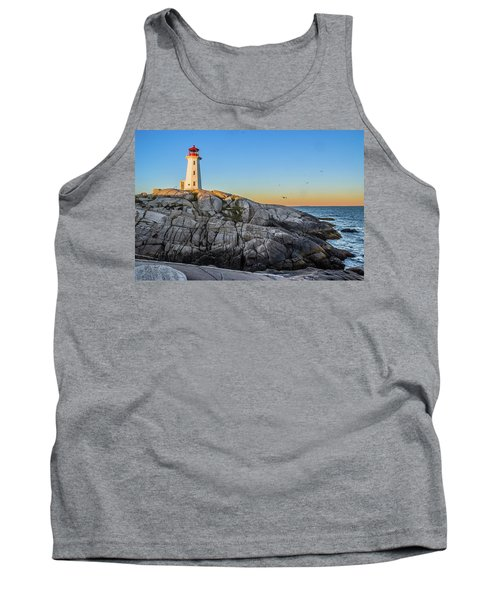 Peggys Cove Lighthouse Tank Top