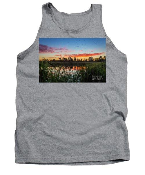 Phinizy Swamp Sunrise - Augusta Ga Tank Top