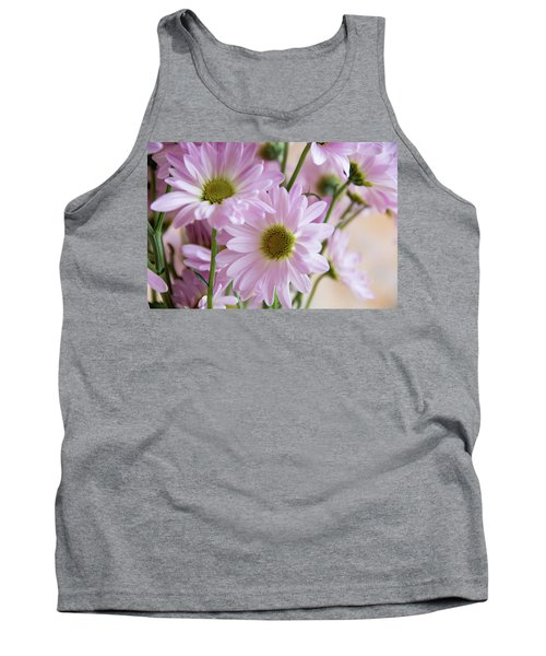 Pink Daisies-1 Tank Top