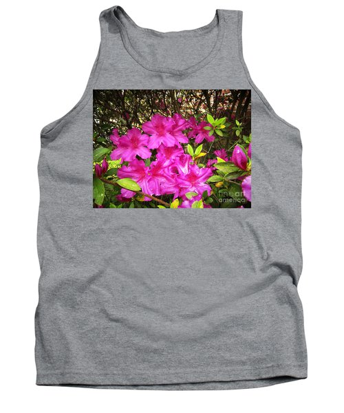 Pink Outside Tank Top