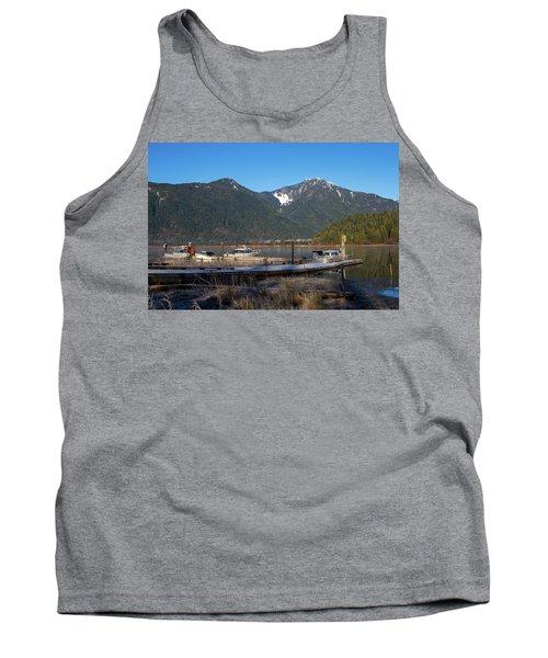 Pitt Lake Winterimpression Tank Top