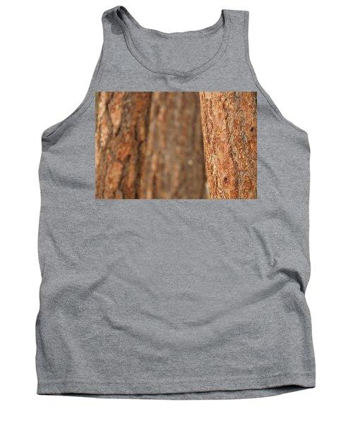 Ponderosa Pine Bark Detail Tank Top