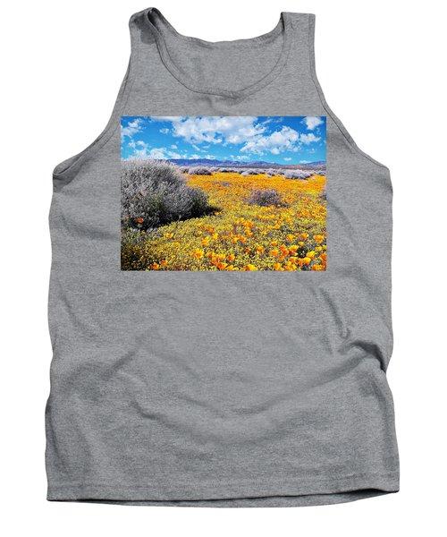 Poppy Patch - California Tank Top