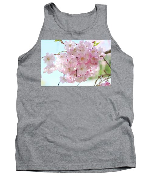 Pretty Pink Blossoms Tank Top
