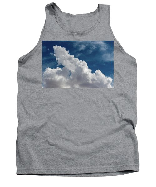 Puffy White Clouds Tank Top