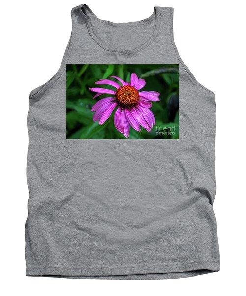 Purple Cone Flower Tank Top