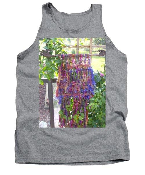 Purple Weaving Tank Top