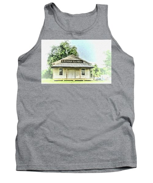 Quiet Reminder Of Yesterday In Goochland, County Virginia Tank Top