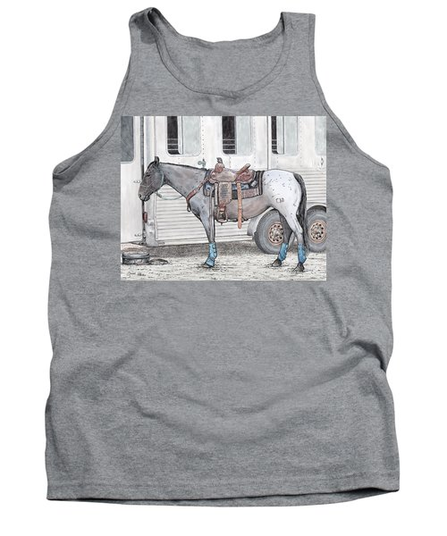 Ready For Battle  Tank Top